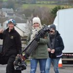 Shelley Lowry on location