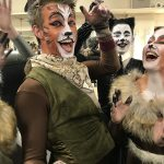 Celebratring Backstage after CATS